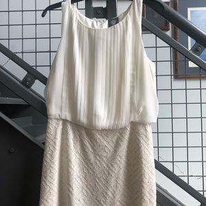 Vince Camuto Off White Cocktail Dress